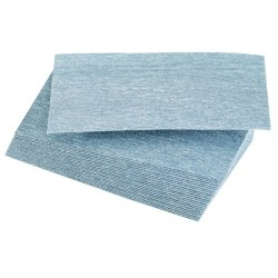 Lot de 25 feuilles abrasives